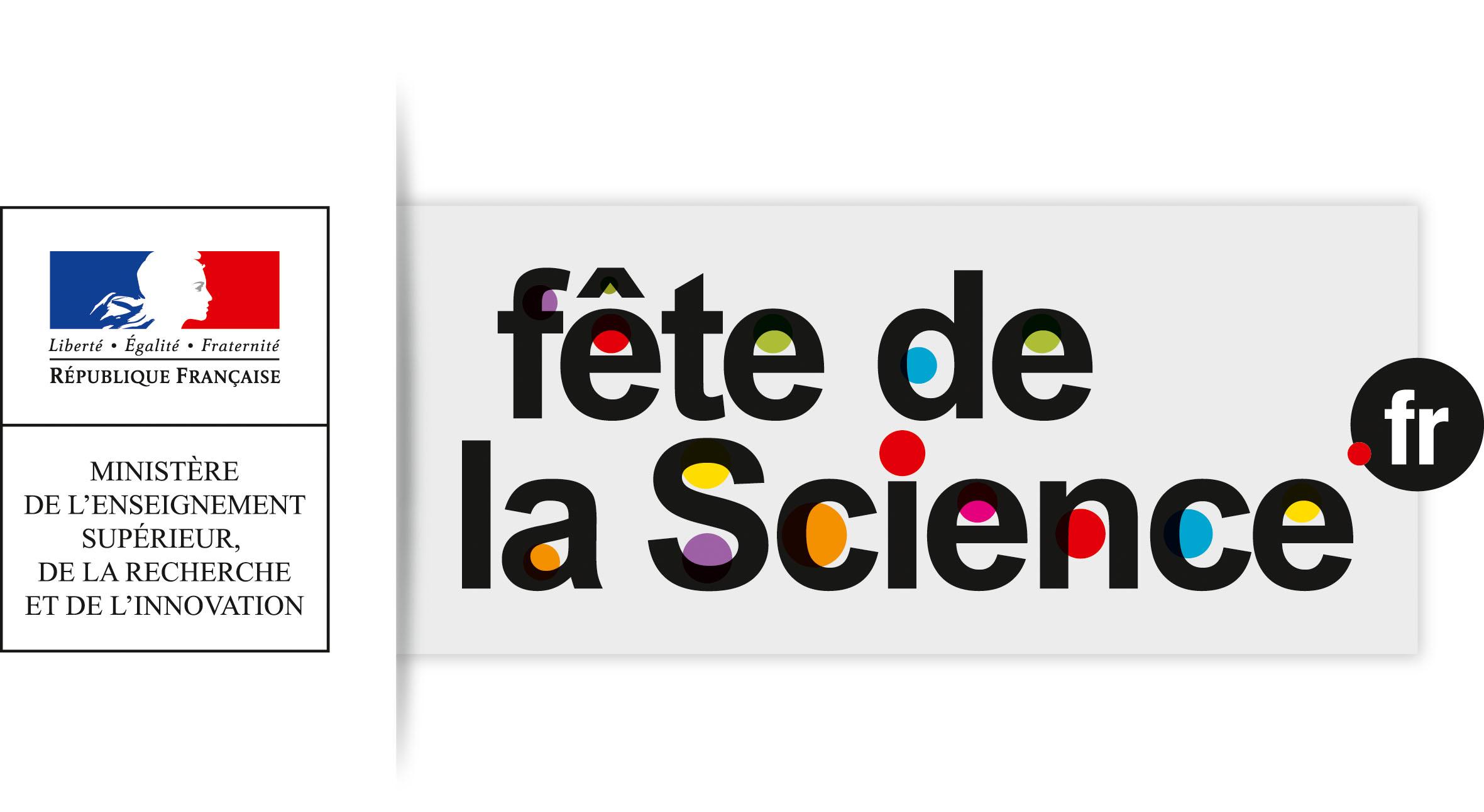 LOGO National fête de la science