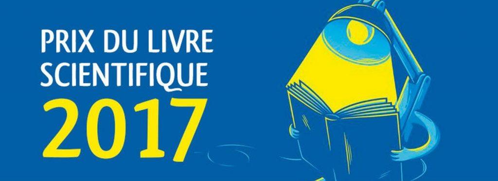 Vignette Prix du livre scientifique 2017